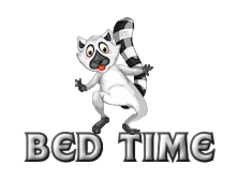 Bed Time - RaccoonStepOnName