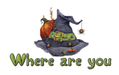 Where are you - CuteWitchesHat