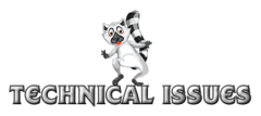 Technical issues - RaccoonStepOnName