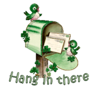 Hang in there - StPatrickMailbox16