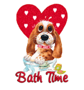 Bath Time - ValentinePup2016