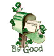Be Good - StPatrickMailbox16