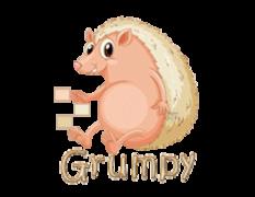 Grumpy - CutePorcupine