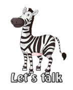 Let's talk - DancingZebra