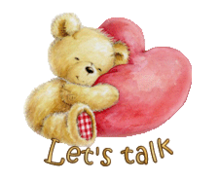 Let's talk - ValentineBear2016