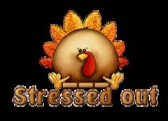 Stressed out - ThanksgivingCuteTurkey