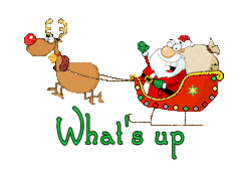 What's up - SantaSleigh