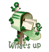What's up - StPatrickMailbox16