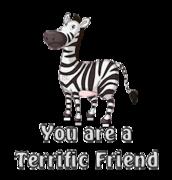 You are a Terrific Friend - DancingZebra