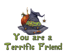 You are a Terrific Friend - CuteWitchesHat