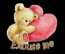 Excuse me - ValentineBear2016