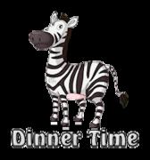 Dinner Time - DancingZebra