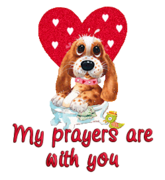 My prayers are with you - ValentinePup2016