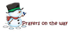 Prayers on the way - Snowman&Bird