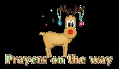 Prayers on the way - ChristmasReindeer