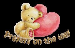 Prayers on the way - ValentineBear2016