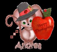 Andrea - ThanksgivingMouse