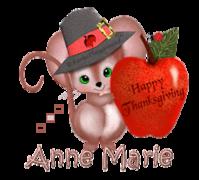 Anne Marie - ThanksgivingMouse