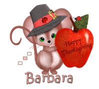 Barbara - ThanksgivingMouse