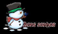 Bons sonhos - Snowman&Bird