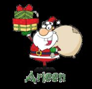 Arleen - SantaDeliveringGifts