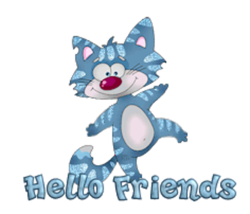 Hello Friends - DancingCat