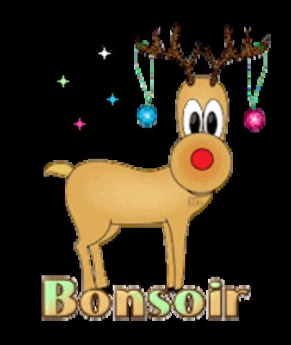 Bonsoir - ChristmasReindeer