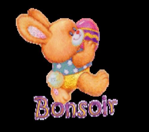 Bonsoir - EasterBunnyWithEgg16