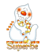 Superbe - CandyCornGhost