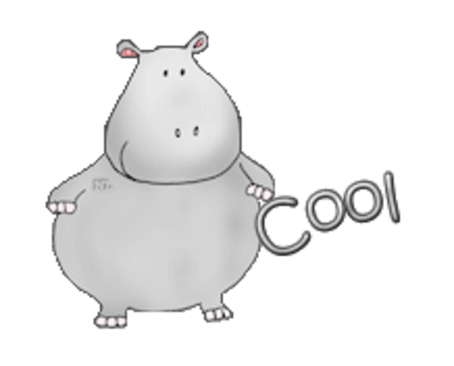 Cool - CuteHippo2018