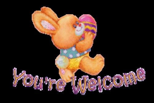 You're Welcome - EasterBunnyWithEgg16