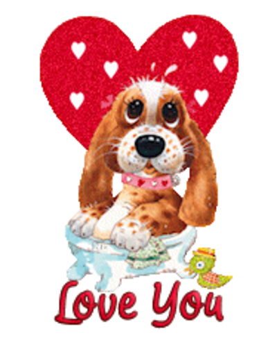 Love You - ValentinePup2016