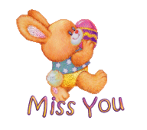 Miss You - EasterBunnyWithEgg16