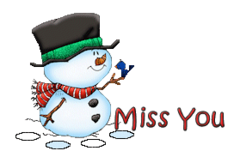 Miss You - Snowman&Bird