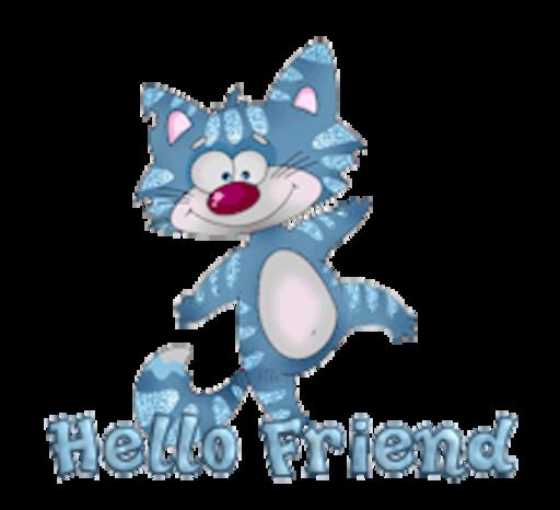 Hello Friend - DancingCat