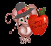 Bye - ThanksgivingMouse