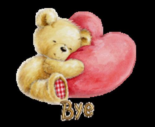 Bye - ValentineBear2016