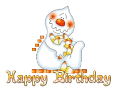 Happy Birthday - CandyCornGhost