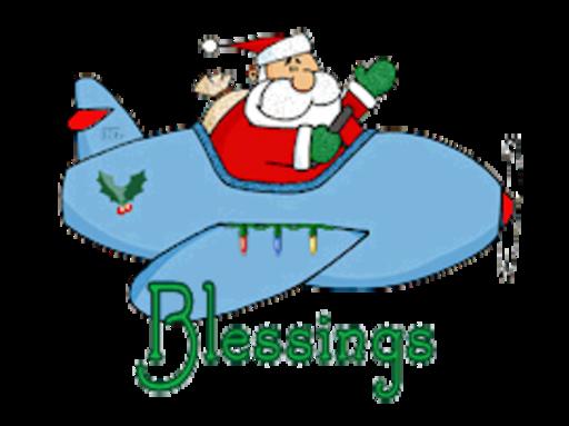 Blessings - SantaPlane