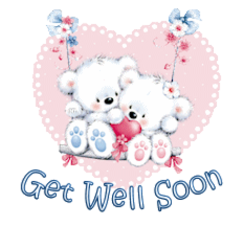 Get Well Soon - ValentineBearsCouple