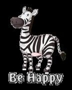 Be Happy - DancingZebra