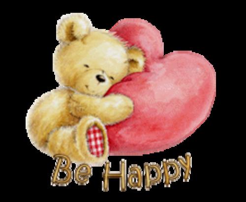 Be Happy - ValentineBear2016