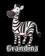 Grandma - DancingZebra