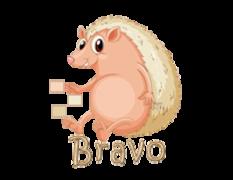 Bravo - CutePorcupine