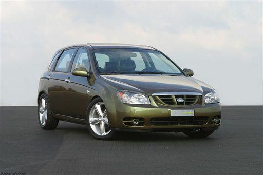 2004 Kia Cerato Green Concept