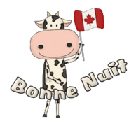 Bonne Nuit - CanadaDayCow