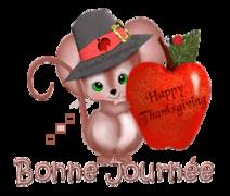 Bonne Journee - ThanksgivingMouse