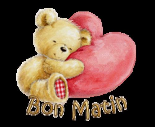 Bon Matin - ValentineBear2016