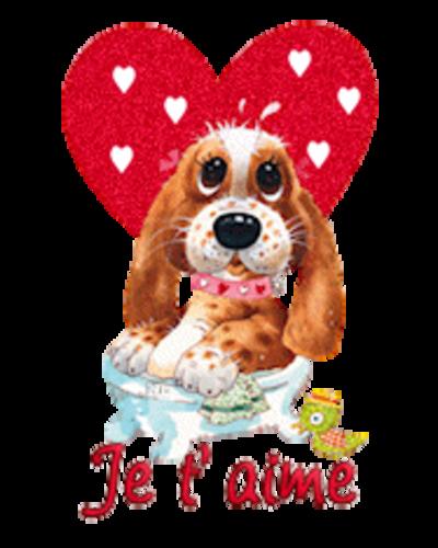 Je t'aime - ValentinePup2016