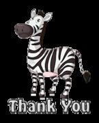 Thank You - DancingZebra